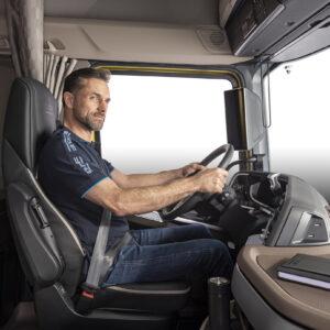 Cab interior designed for maximum driver comfort in New Generation DAF trucks